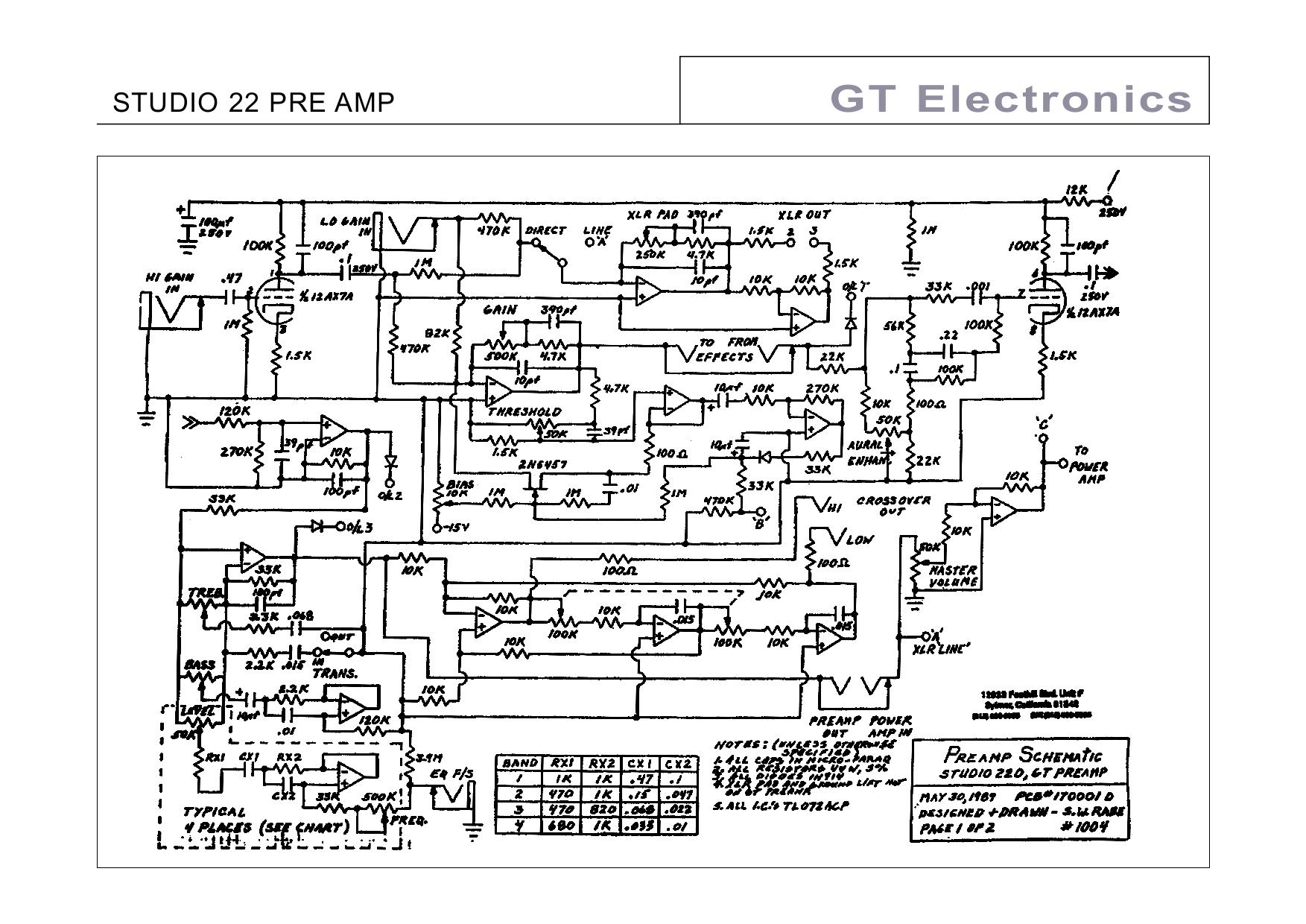 PDF manual for Peavey Amp Bravo 112