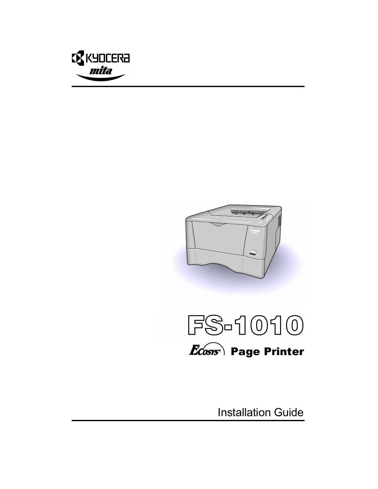 download free pdf for kyocera fs 1010 printer manual rh umlib com kyocera mita fs 1010 kx manual kyocera ecosys fs-1010 manual