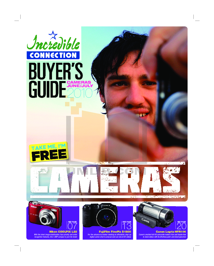 pdf for Canon Digital Camera Powershot A3000 IS manual