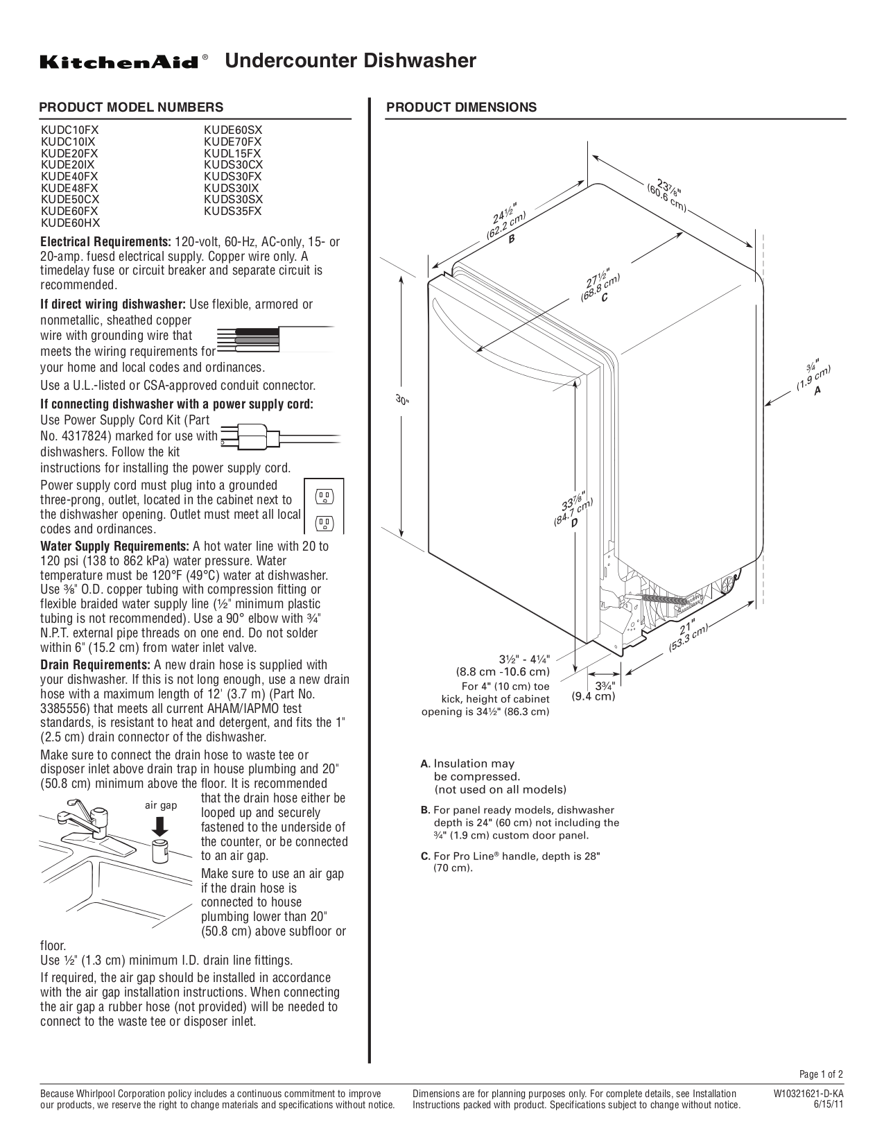 Download free pdf for KitchenAid KUDS35FXSS Dishwasher manual – Kitchenaid Dishwasher Wiring Harness Diagram