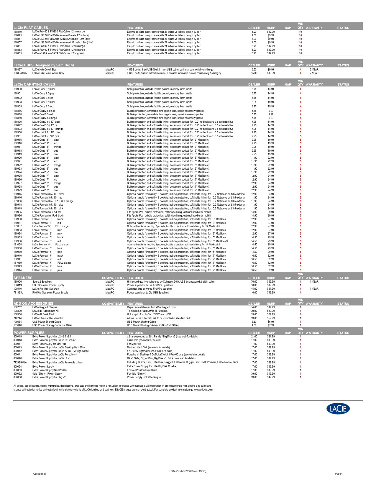 LaCie Storage 301889KUA pdf page preview