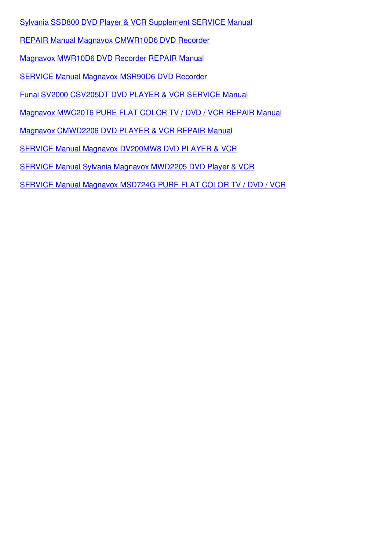 PDF manual for Pioneer DVD Players DV-C36