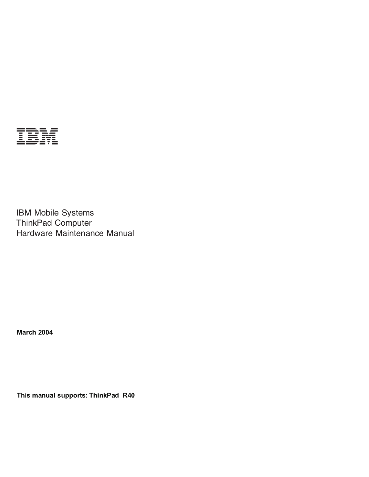 IBM Laptop ThinkPad 760P pdf page preview