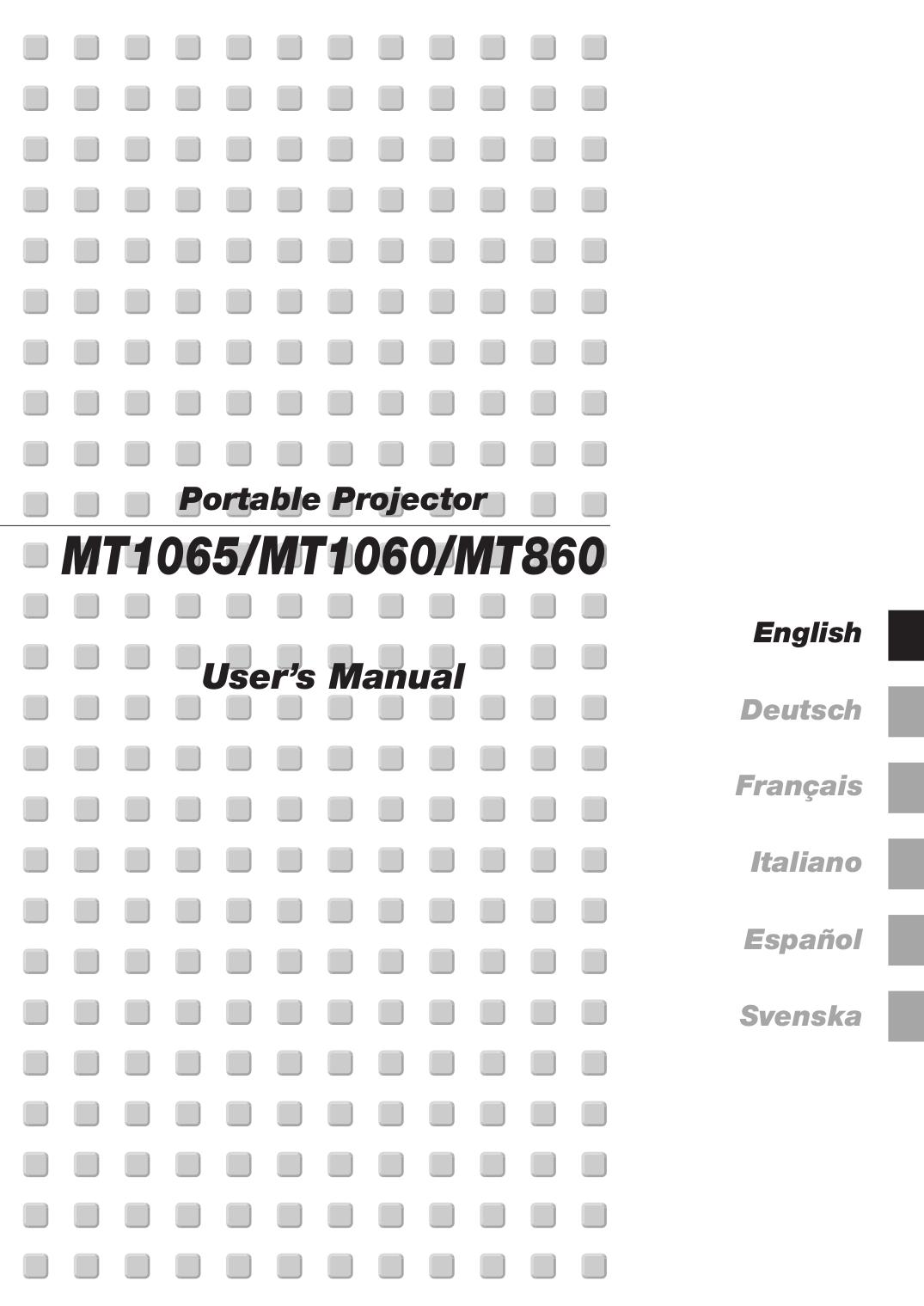 download free pdf for nec mt860 projector manual rh umlib com Parts Manual Maintenance Manual