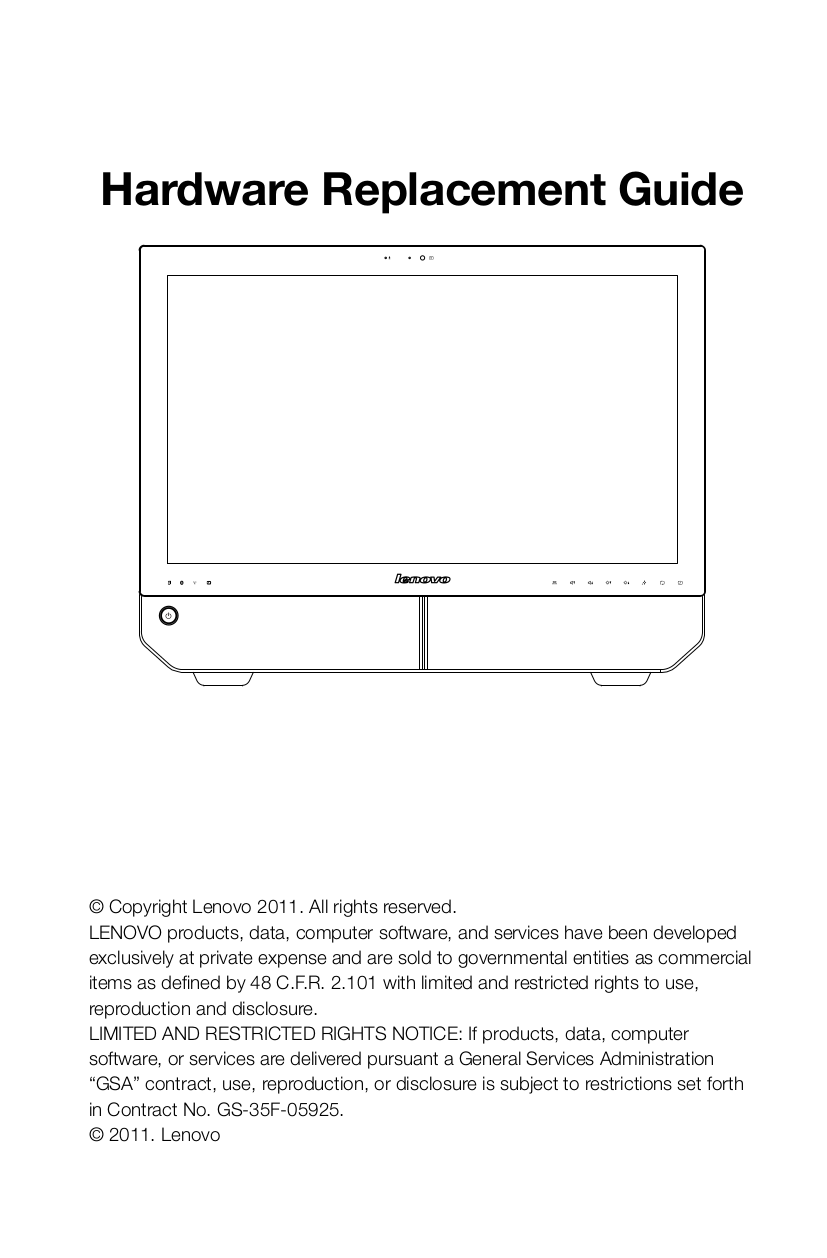 Lenovo Desktop IdeaCentre B520 7745 pdf page preview