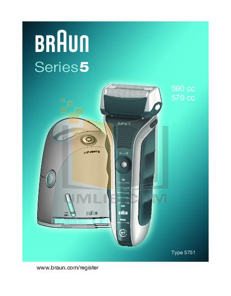 pdf for Braun Other CCR3 Cartridges manual