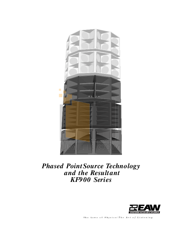 pdf for Eaw Speaker System KF853D manual