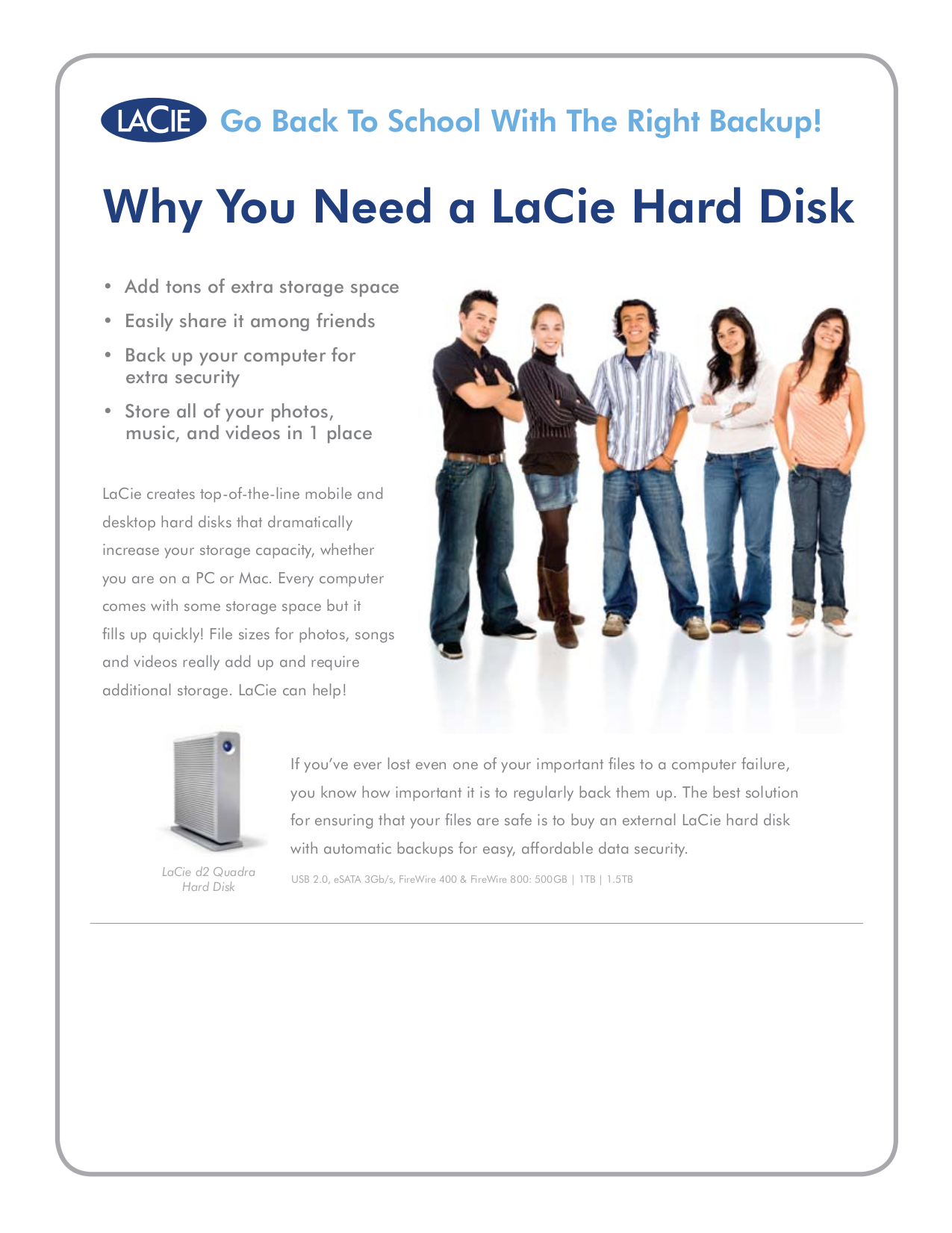 pdf for LaCie Storage 301829N manual