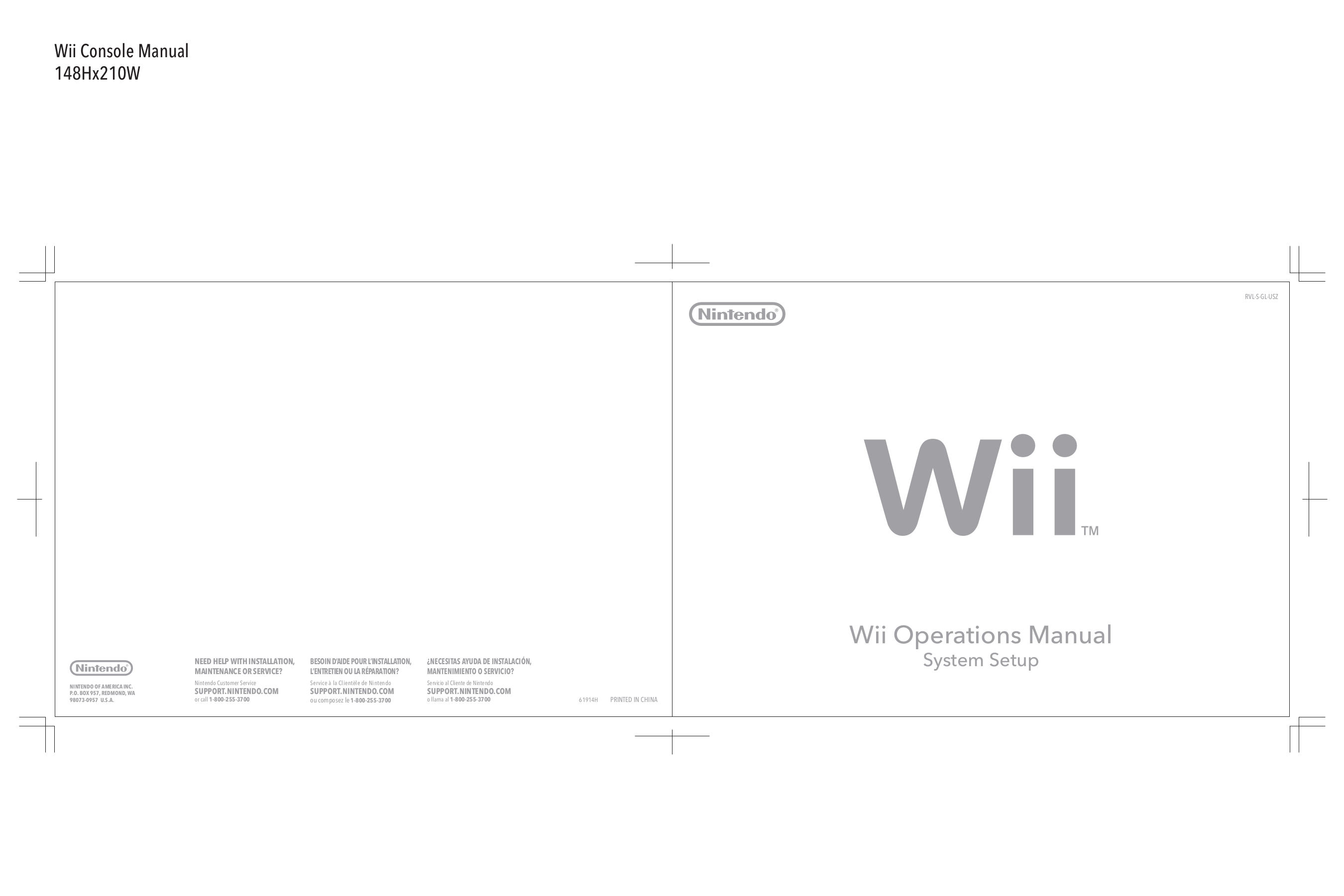 pdf for Nintendo Game Console e-reader manual