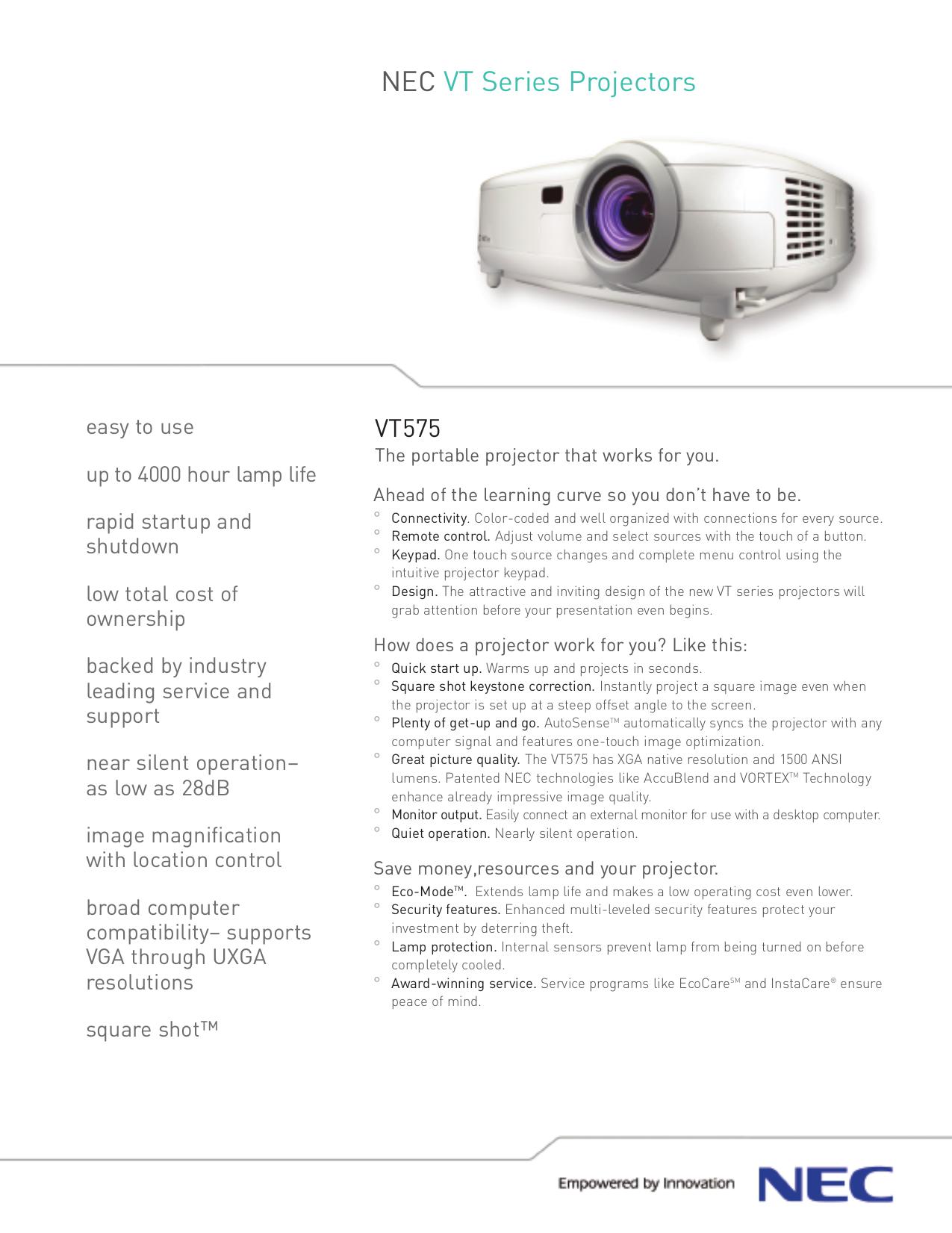 download free pdf for nec vt575 projector manual rh umlib com Volkswagen LT 35 Volkswagen LT 28