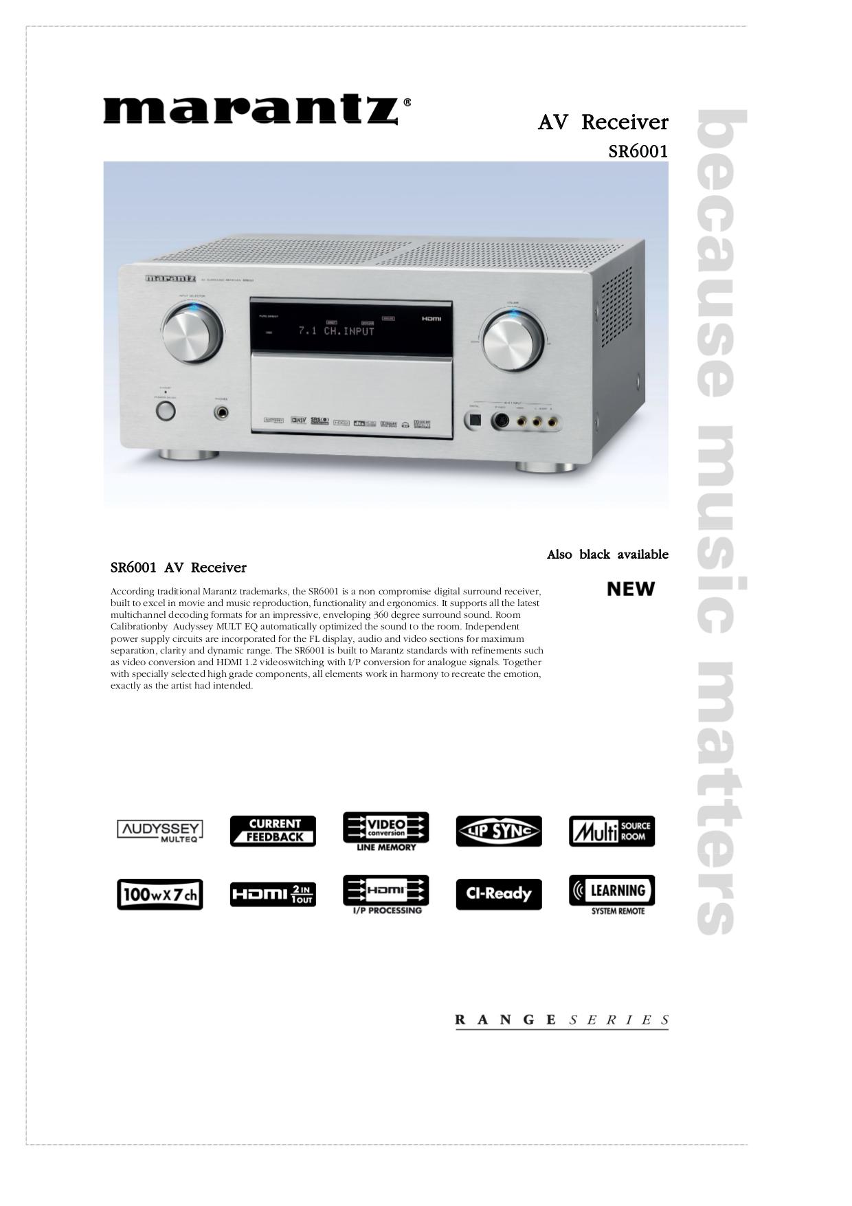 download free pdf for marantz sr6001 receiver manual rh umlib com marantz 6001 manual marantz 6010 manual
