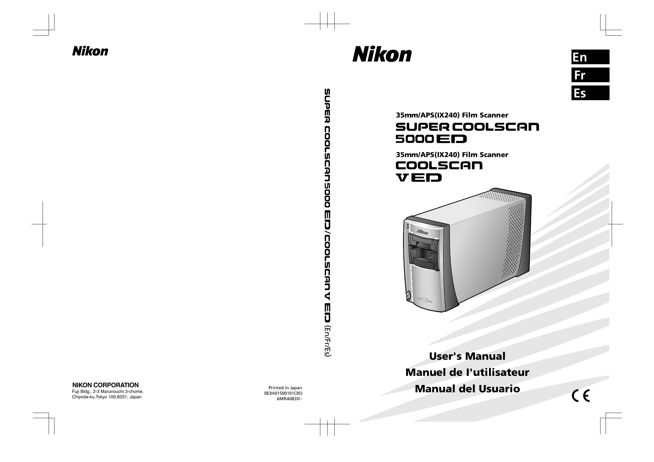 pdf for Nikon Other SF-210 Camera Slide Feeder Adapter manual