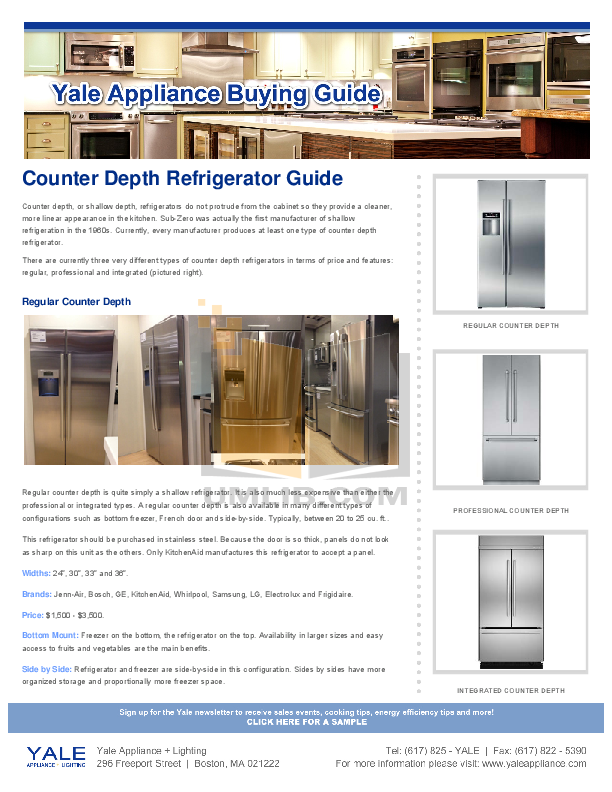 pdf for Bosch Refrigerator B22CS30SNS manual