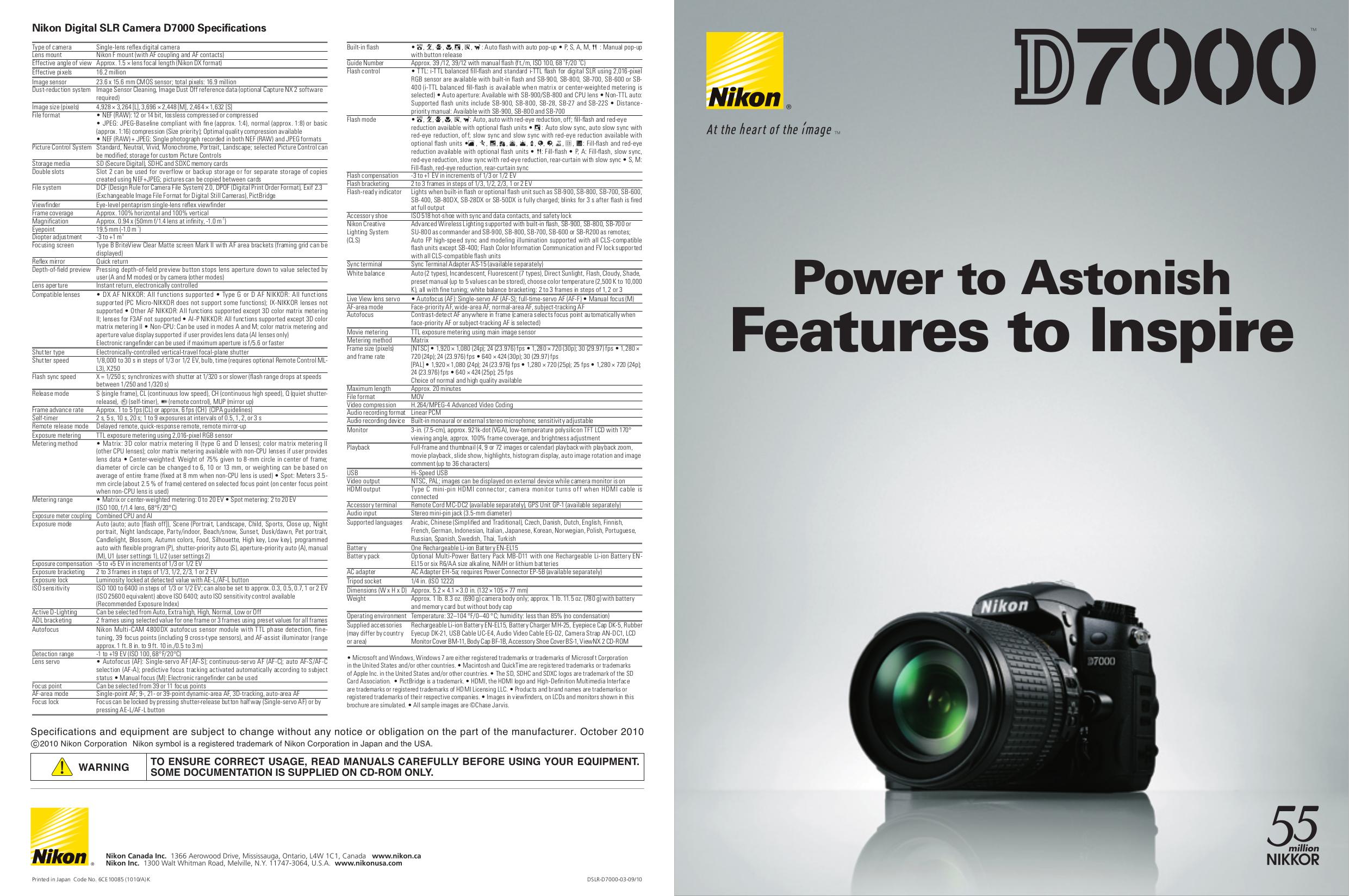 Nikon D7000 Experience Pdf