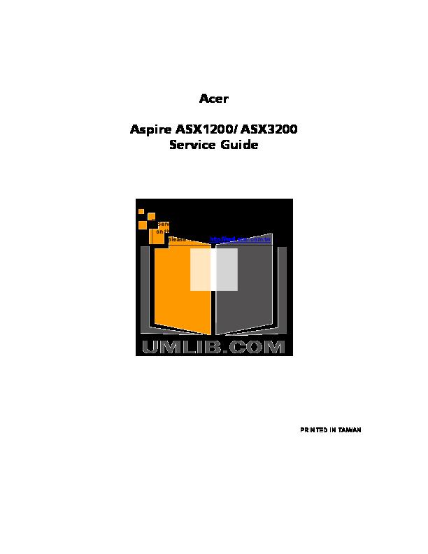 download free pdf for acer aspire m1200 desktop manual rh umlib com Automotive Service Manuals Automotive Service Manuals