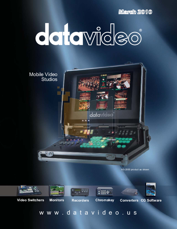 pdf for Datavideo Other SE-500 Switcher manual
