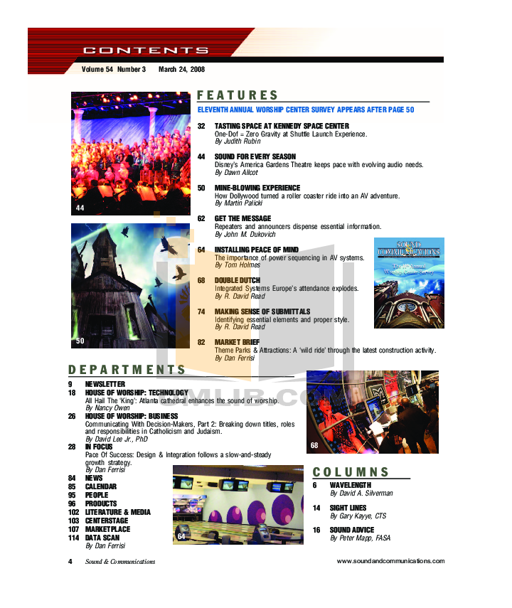 Eaw Speaker System MK2194e pdf page preview