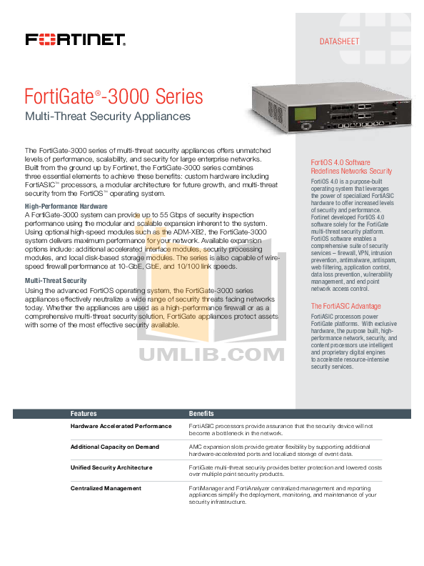 pdf for Fortinet Router FortiGate FortiGate-ADM-XB2 manual