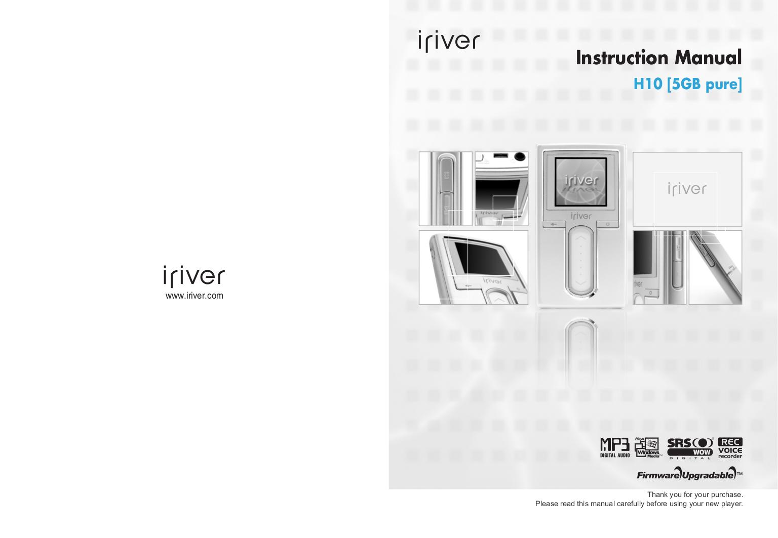 iriver h10 5gb manual open source user manual u2022 rh dramatic varieties com iRiver H10 20GB Digital Jukebox