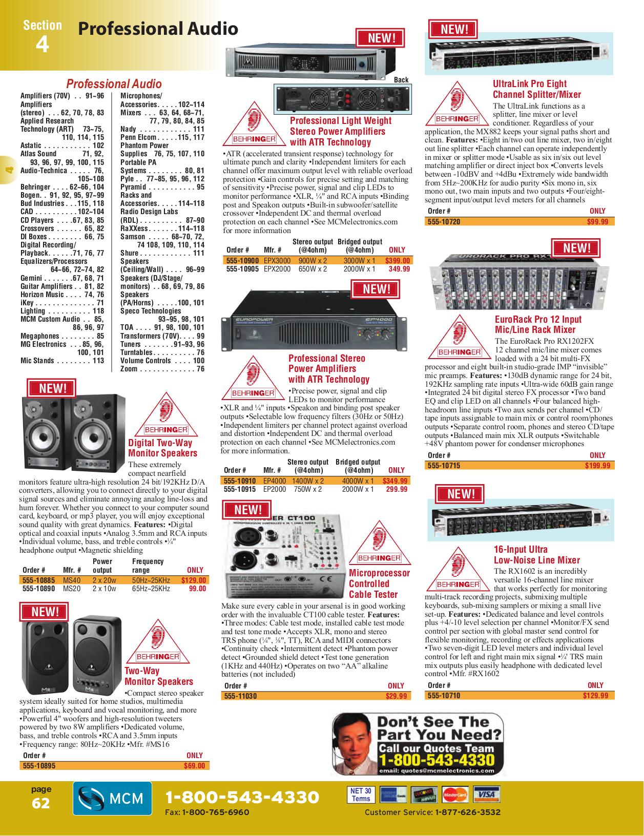 PDF manual for Profile Car Amplifier HA400