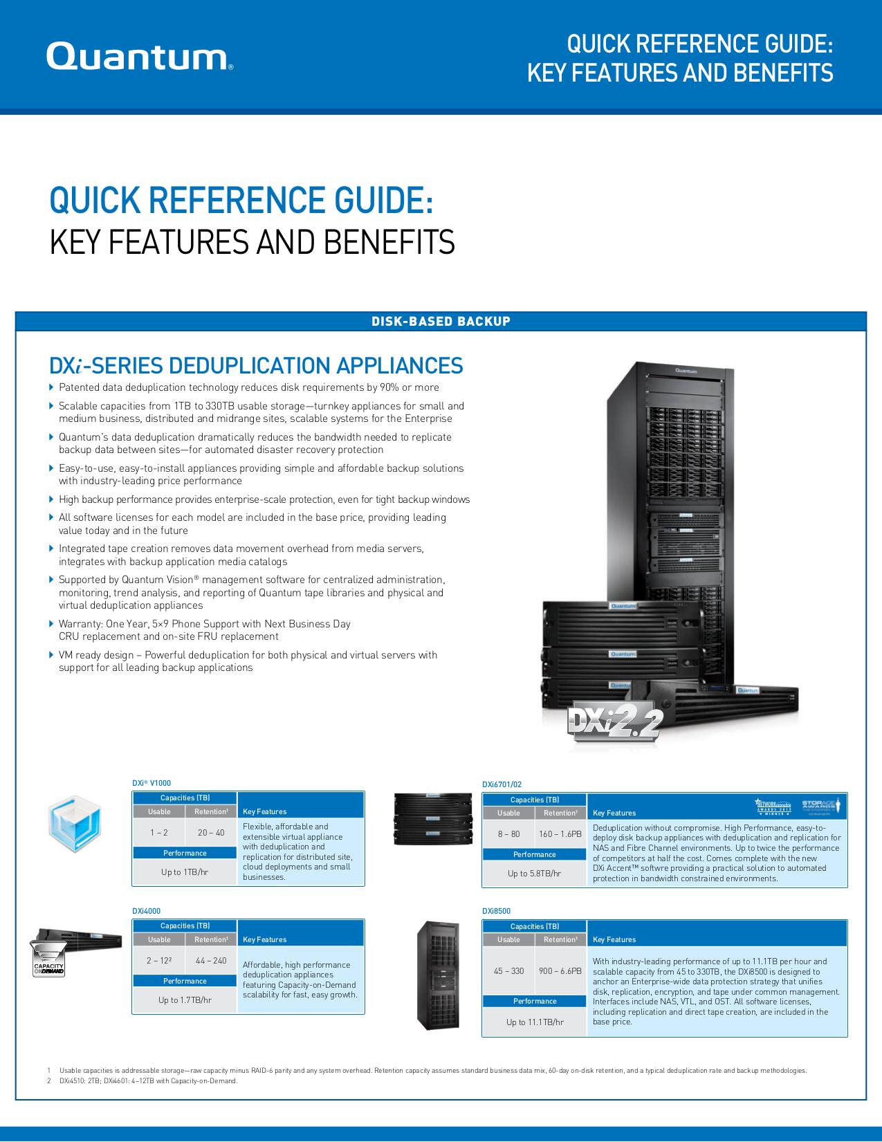 pdf for Quantum Storage DAT 72 manual