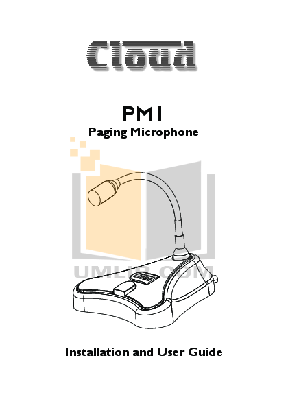 pdf for Crown Other CM-312E Microphones manual