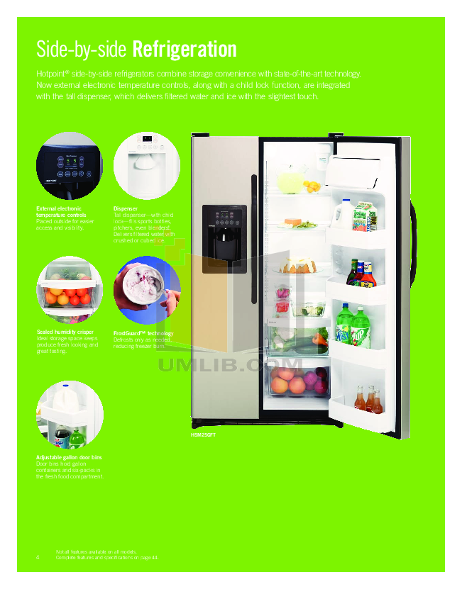 Hotpoint Range RB525DP pdf page preview