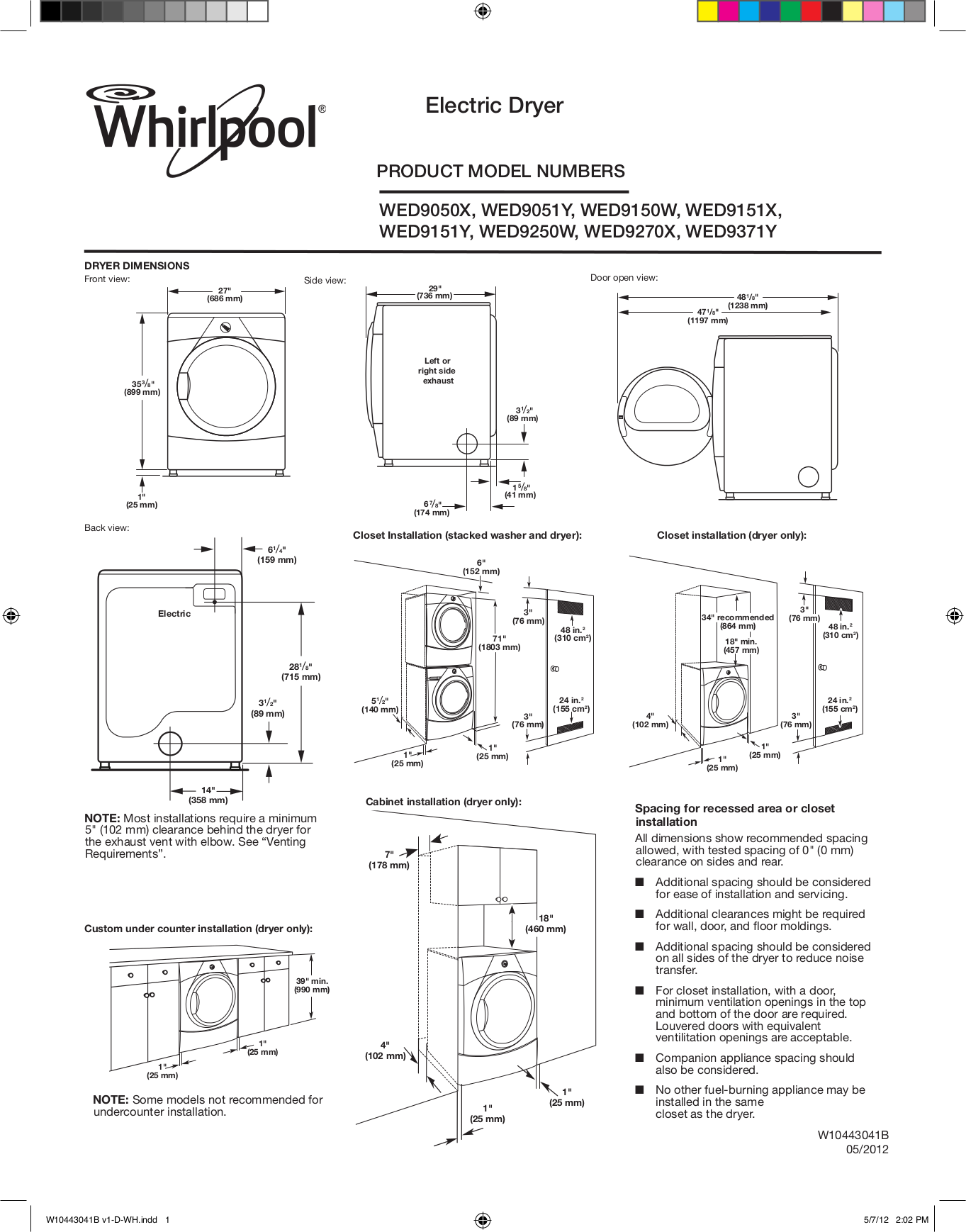 Whirlpool | user manual – devicemanuals.