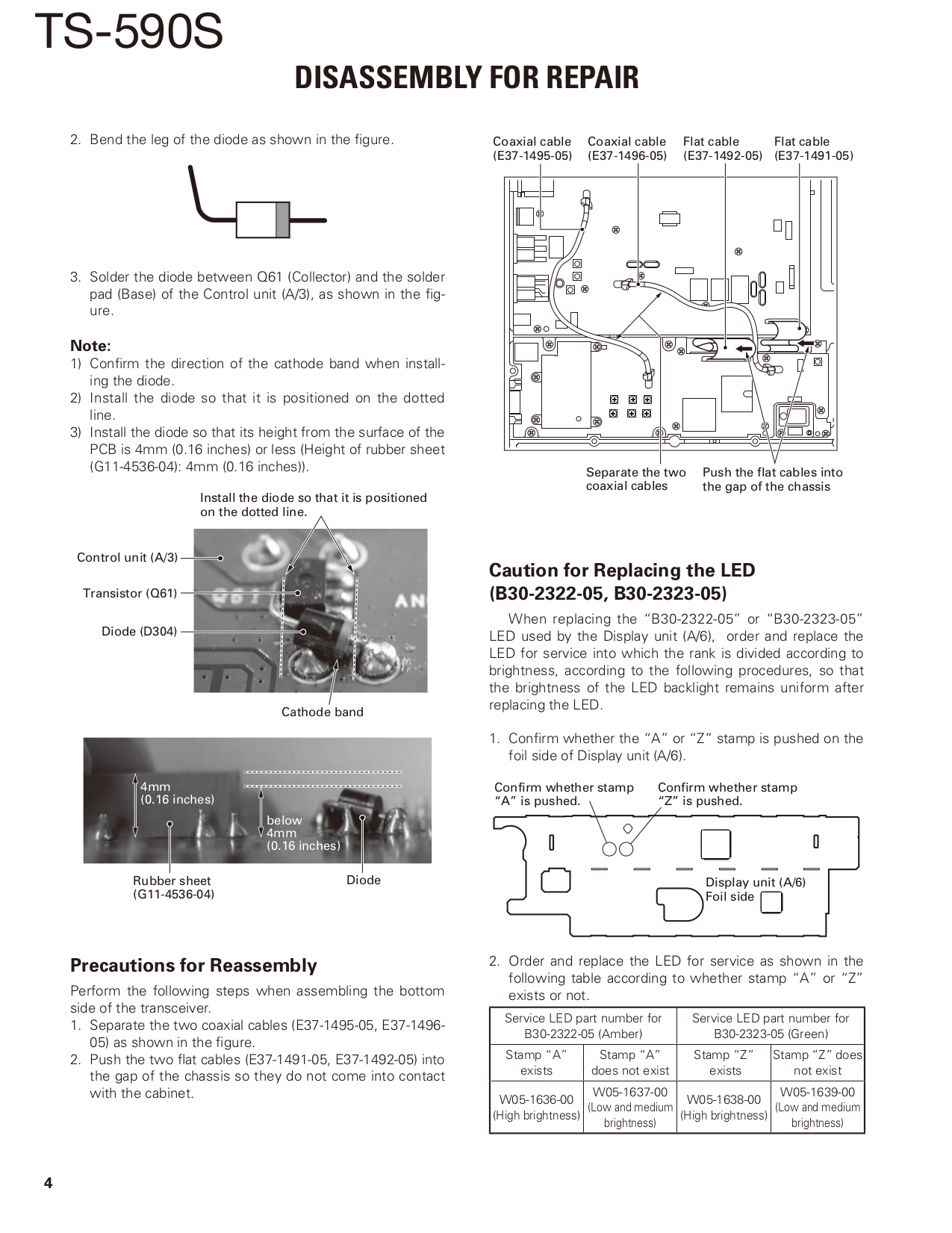 ... Kenwood Receiver VR-406 pdf page preview ...