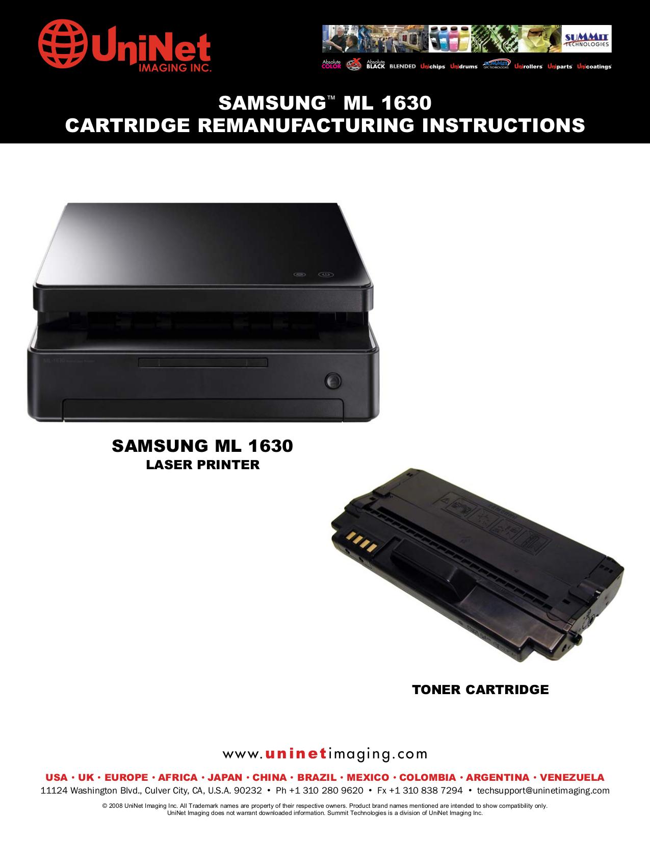 download free pdf for samsung ml 1630w printer manual rh umlib com Samsung Tablet Ce0168 Instruction Manual Samsung Owner's Manual