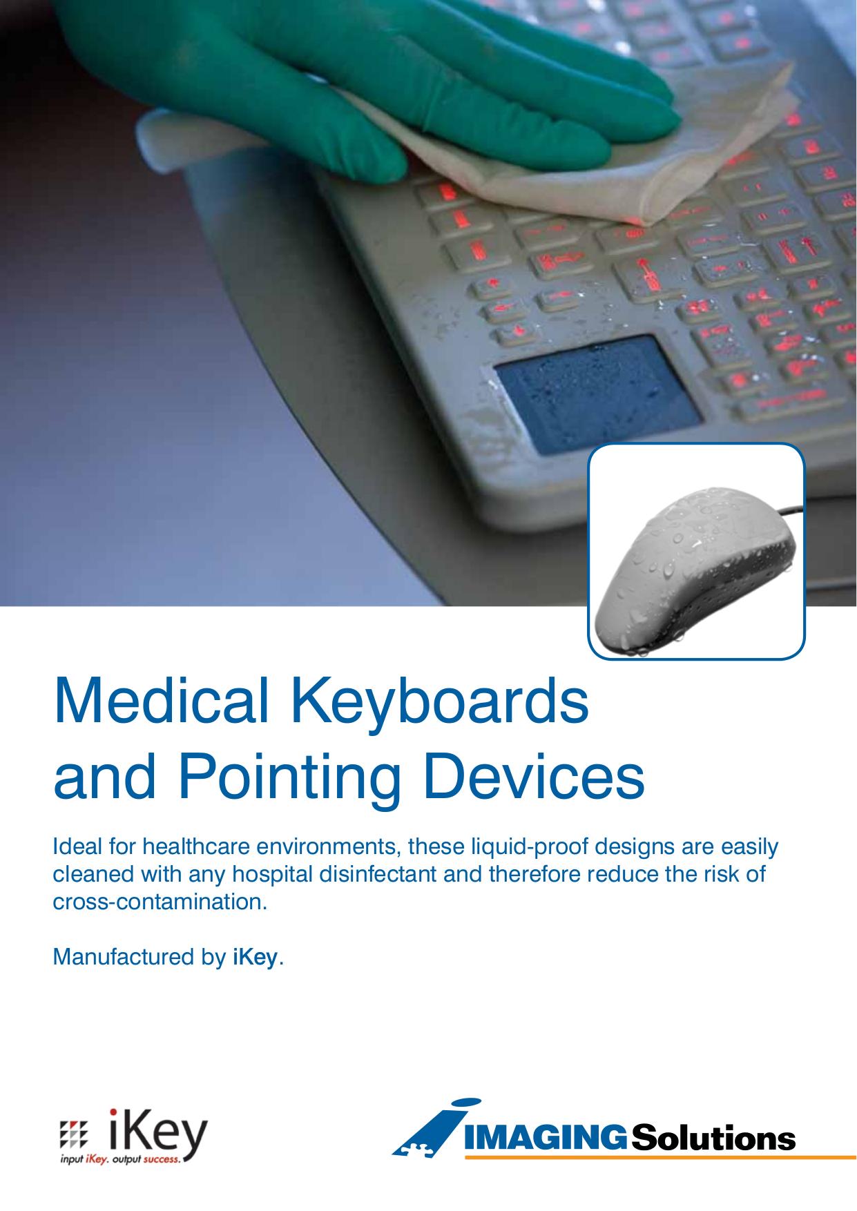 pdf for iKey Keyboard SLK-101-FL manual