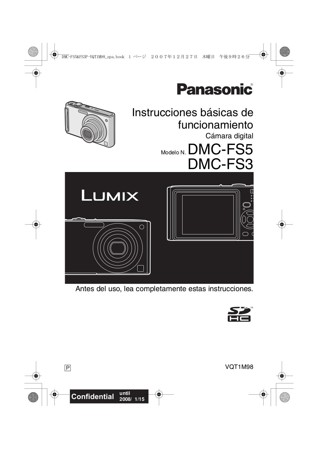 download free pdf for panasonic lumix dmc fs5 digital camera manual rh umlib com