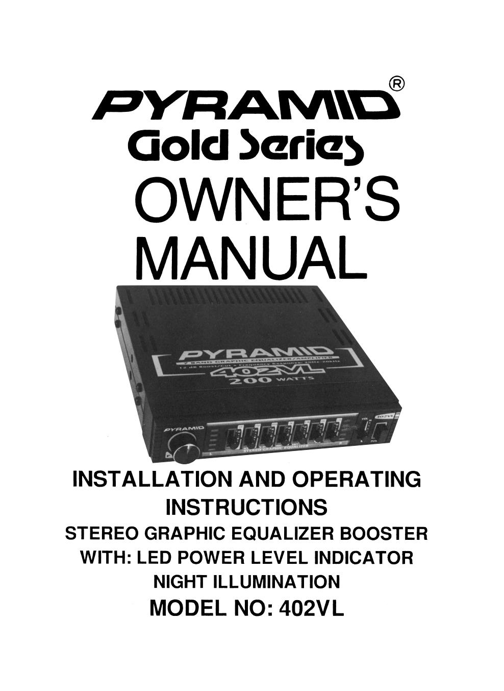 download free pdf for pyramid 402vl car amplifier manual rh umlib com Pyramid Royal Red Pyramid Power Supply Website