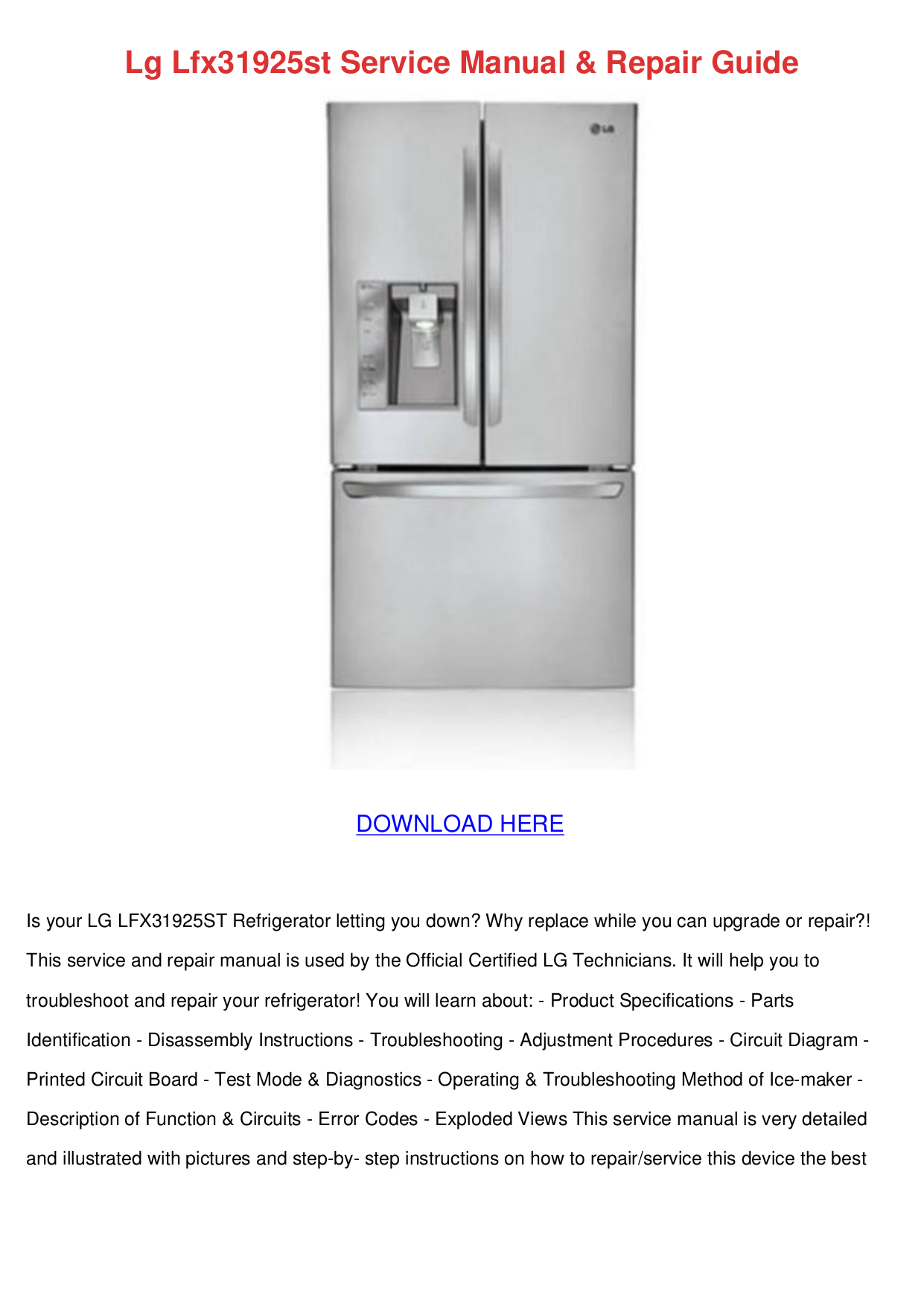 download free pdf for lg lfx31925st refrigerator manual rh umlib com lg refrigerator manual lfxc24726s lg refrigerator manual lfx31925st