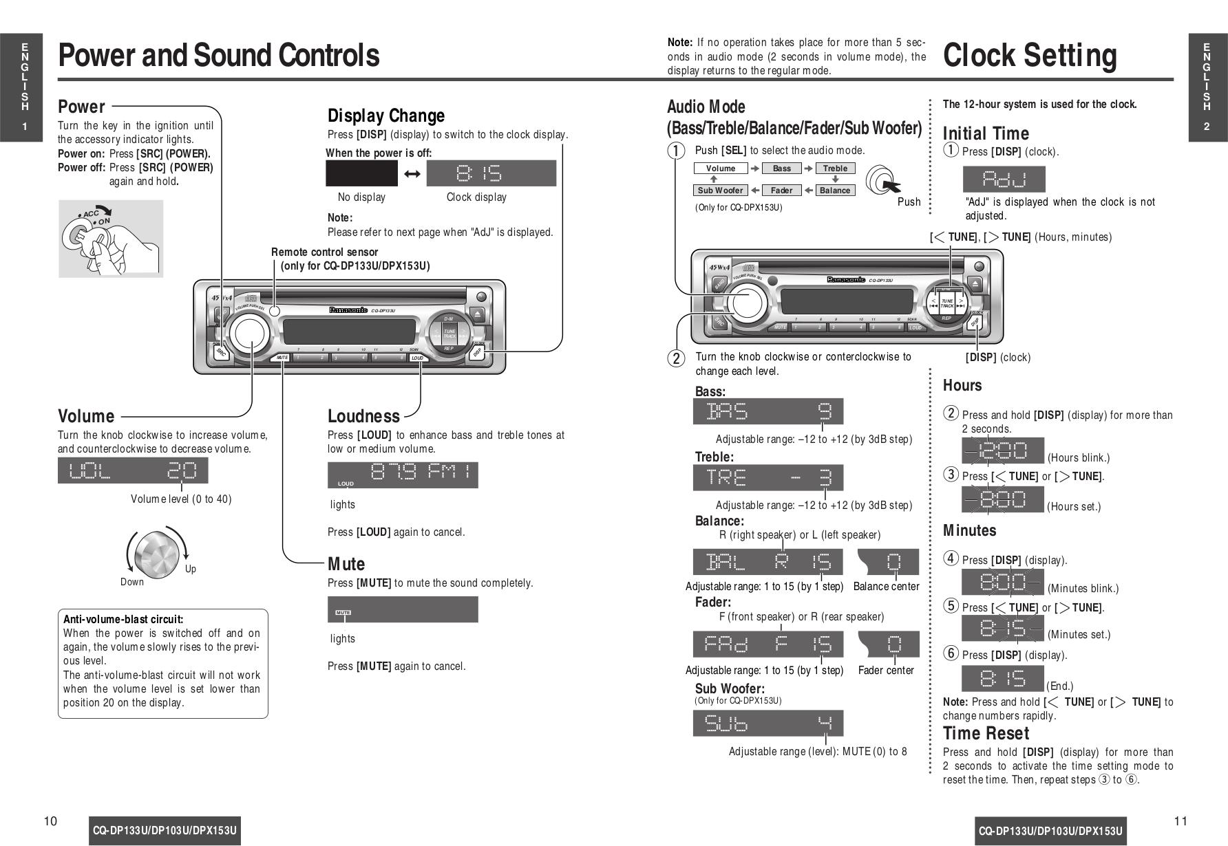 Panasonic Cq Dp133u Wiring Diagram Free For You Harness Manual Rh Ode3 Odin8 Ru Net Radio
