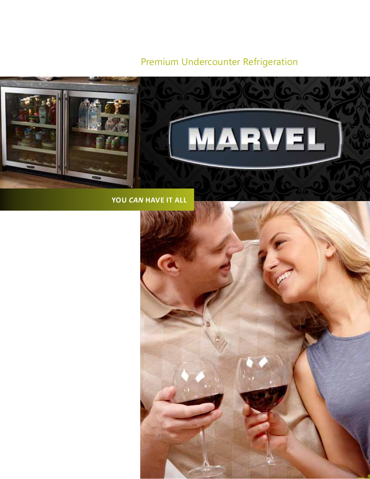 pdf for Marvel Refrigerator 6BARM-BS-G manual