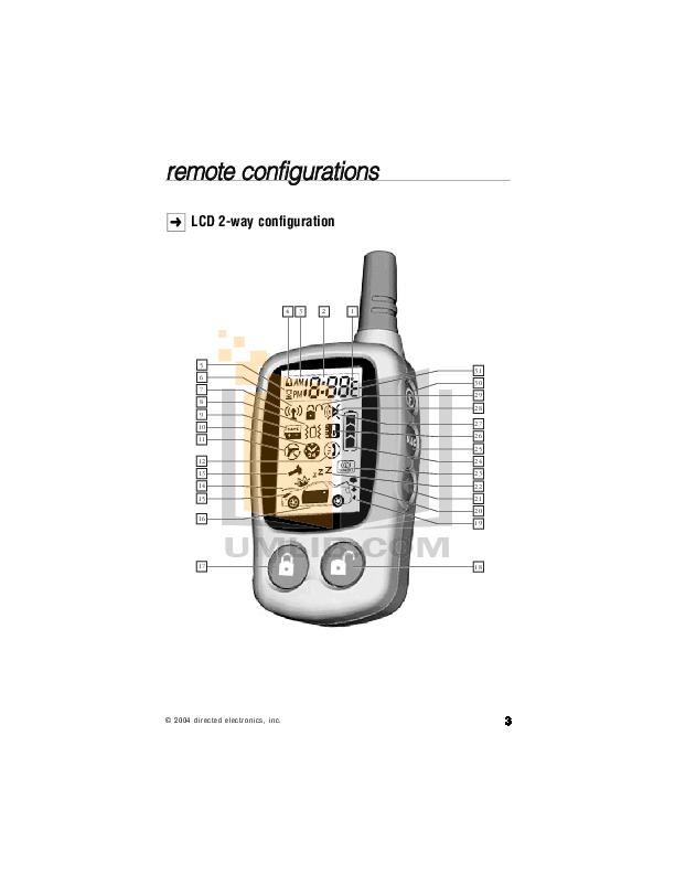 pdf manual for dei other avital 4400 car alarms rh umlib com Avital Ronell Avital Remote Starter Troubleshooting