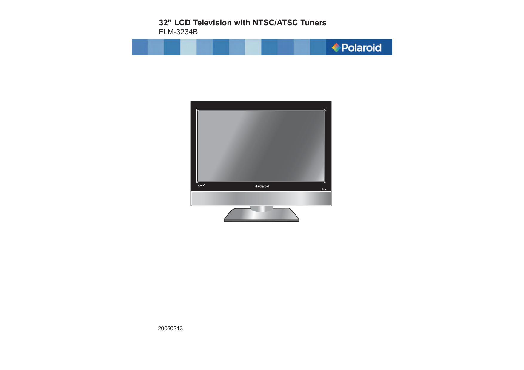 download free pdf for polaroid flm 323b tv manual rh umlib com polaroid flm-373b service manual