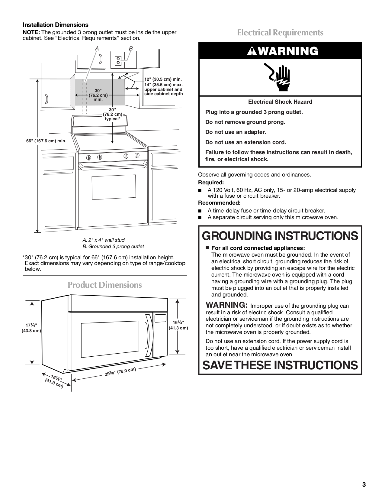Maytag Microwave Mmv5208ws Pdf Page Preview