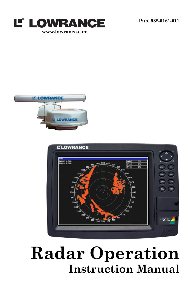 pdf for Lowrance GPS GlobalMap 7500C manual
