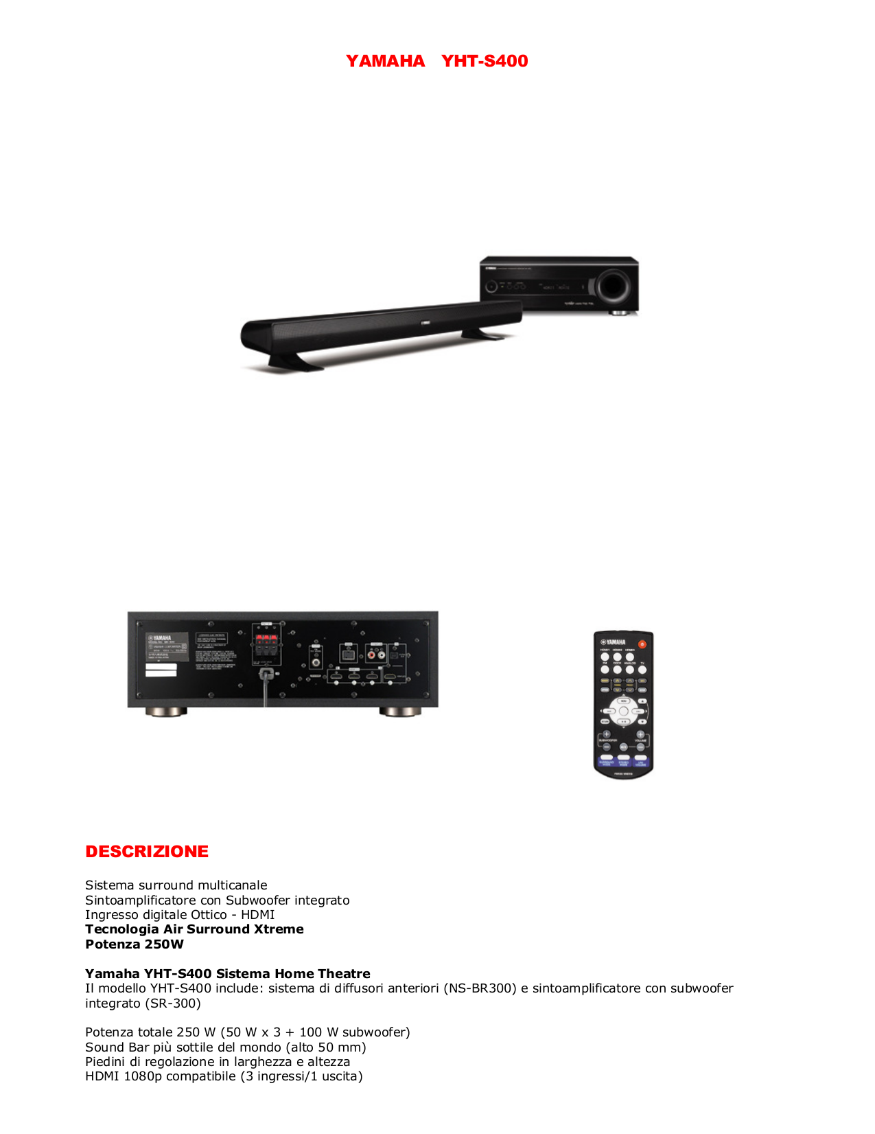 download free pdf for yamaha yht s400 home theater manual rh umlib com yamaha yht-s400 manual Yht Yamaha S400bl
