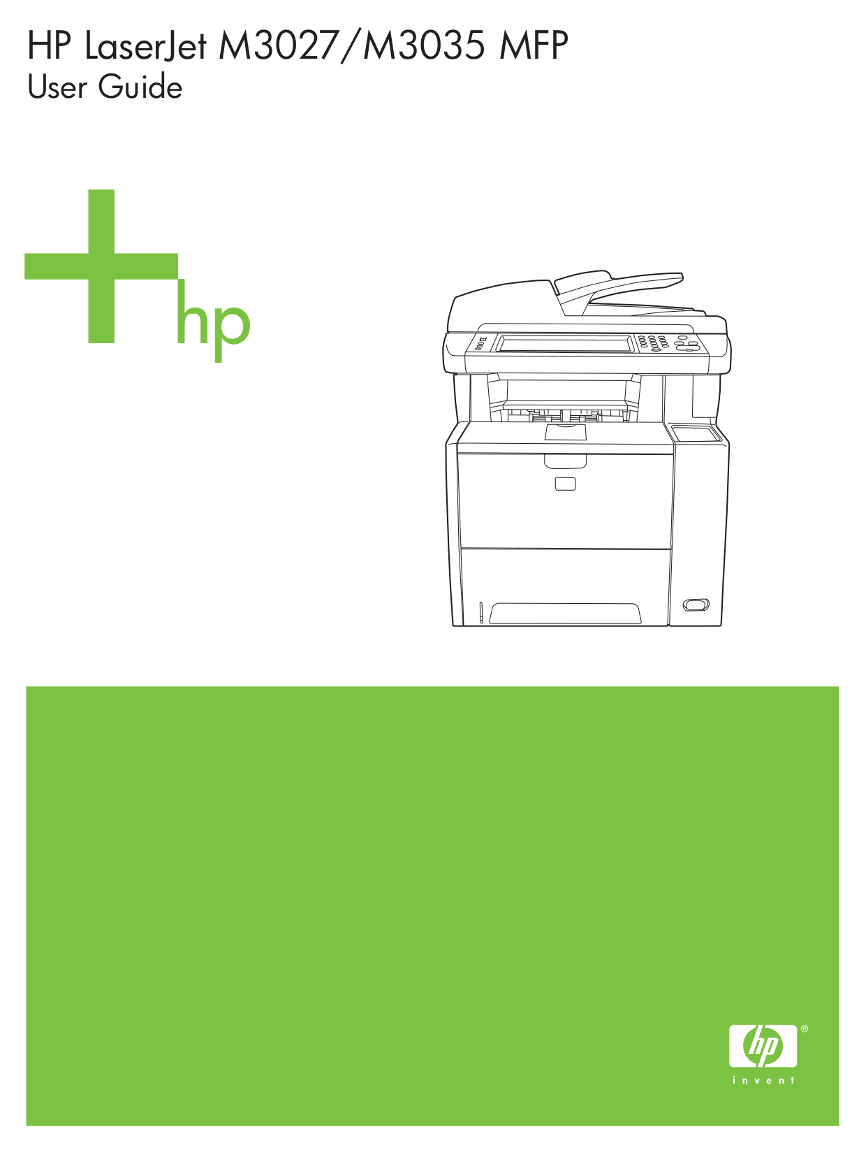 Hp laserjet m3027, m3035 multifunction service manual, parts and.