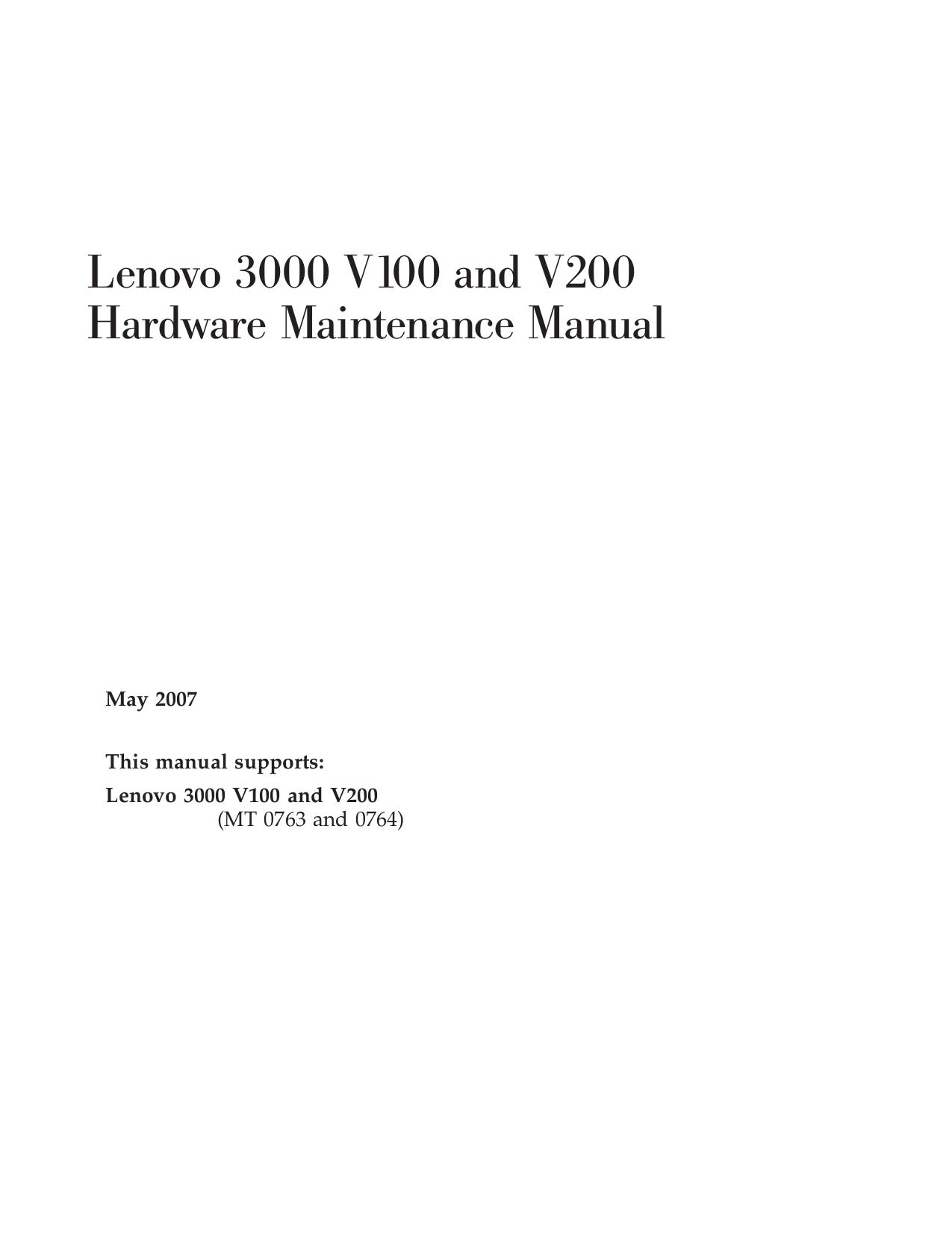 download free pdf for lenovo 3000 v100 0763 laptop manual rh umlib com Lenovo 3000 Desktop Lenovo 3000 Desktop
