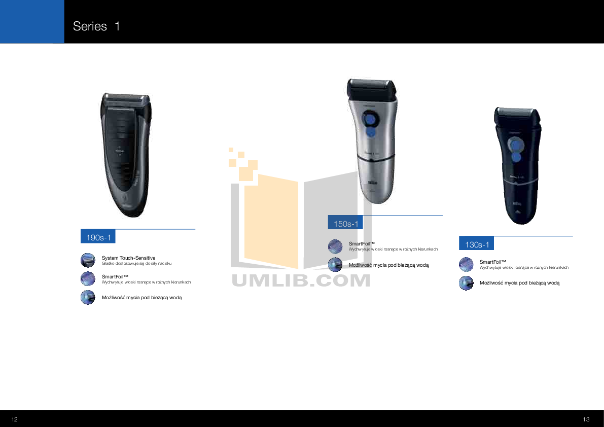 Braun Other PocketGo 570 Shavers pdf page preview