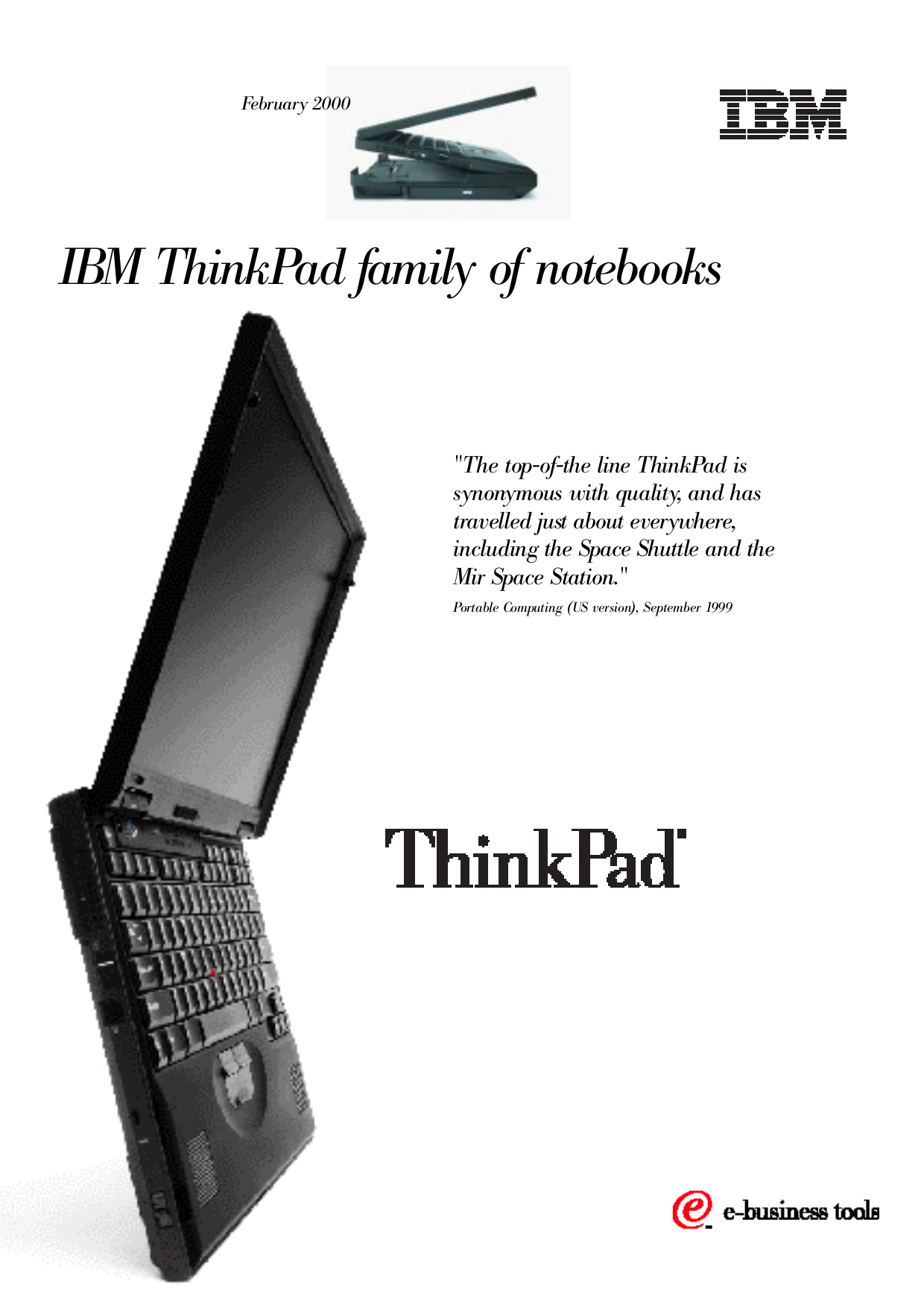 pdf for IBM Laptop ThinkPad 390X manual