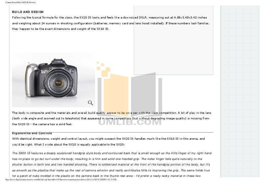 pdf manual for canon digital camera powershot sx20 is rh umlib com canon powershot sx20 is manual user guide canon powershot sx30 is manual