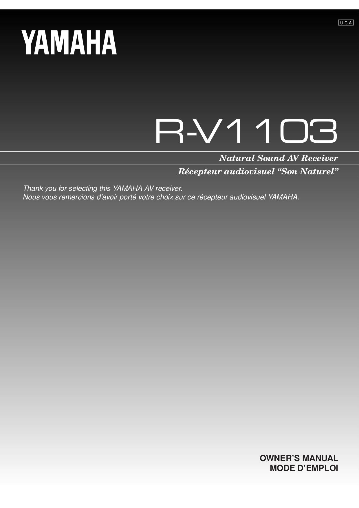 download free pdf for yamaha r 8 receiver manual. Black Bedroom Furniture Sets. Home Design Ideas