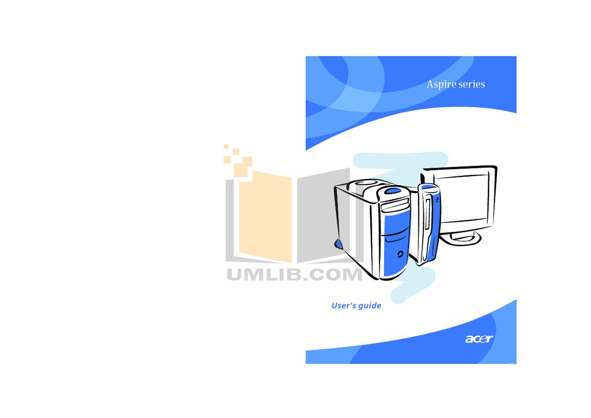 pdf for Acer Desktop Aspire G600p manual