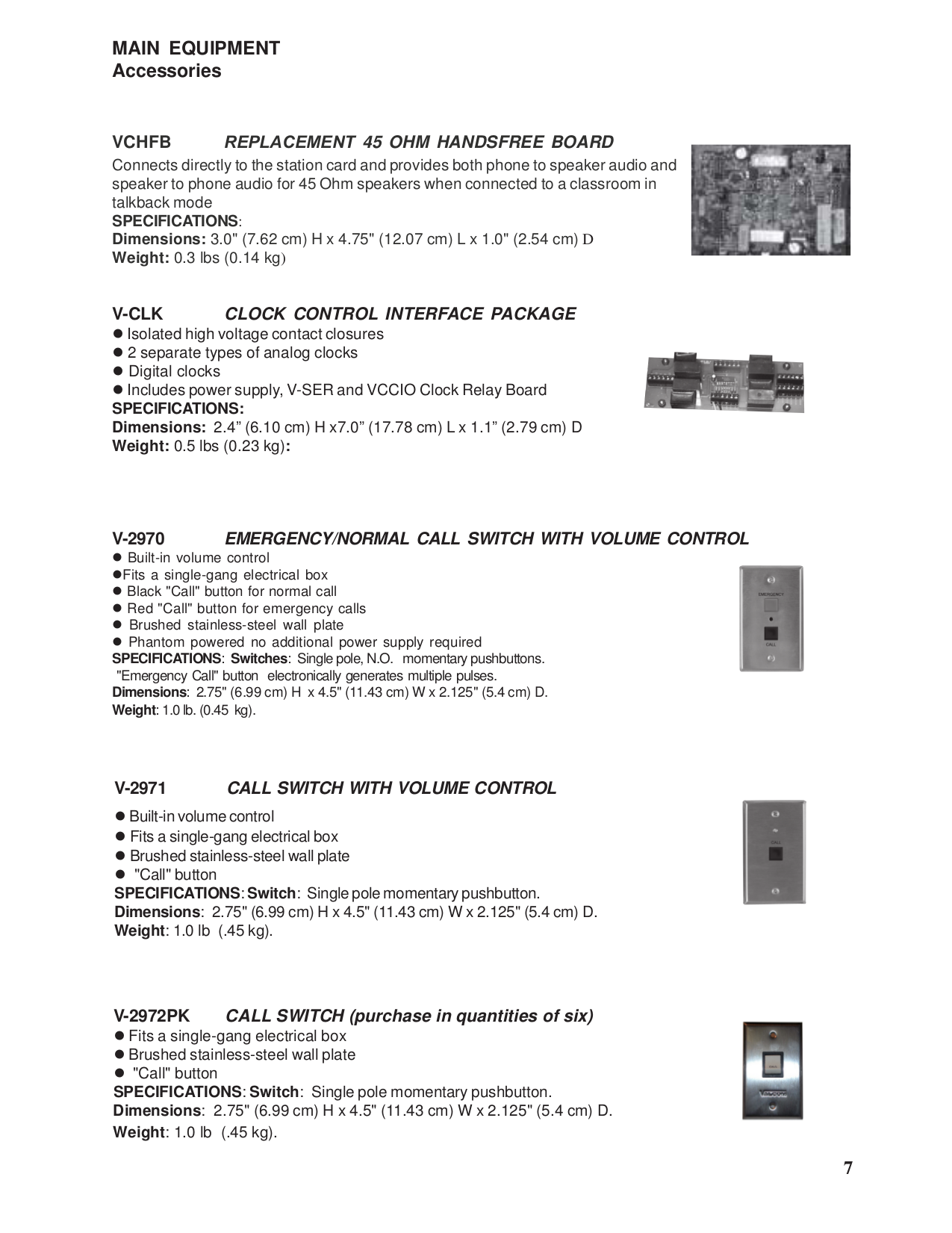 Pdf Manual For Valcom Speaker V1080 Relay Switch Page Preview