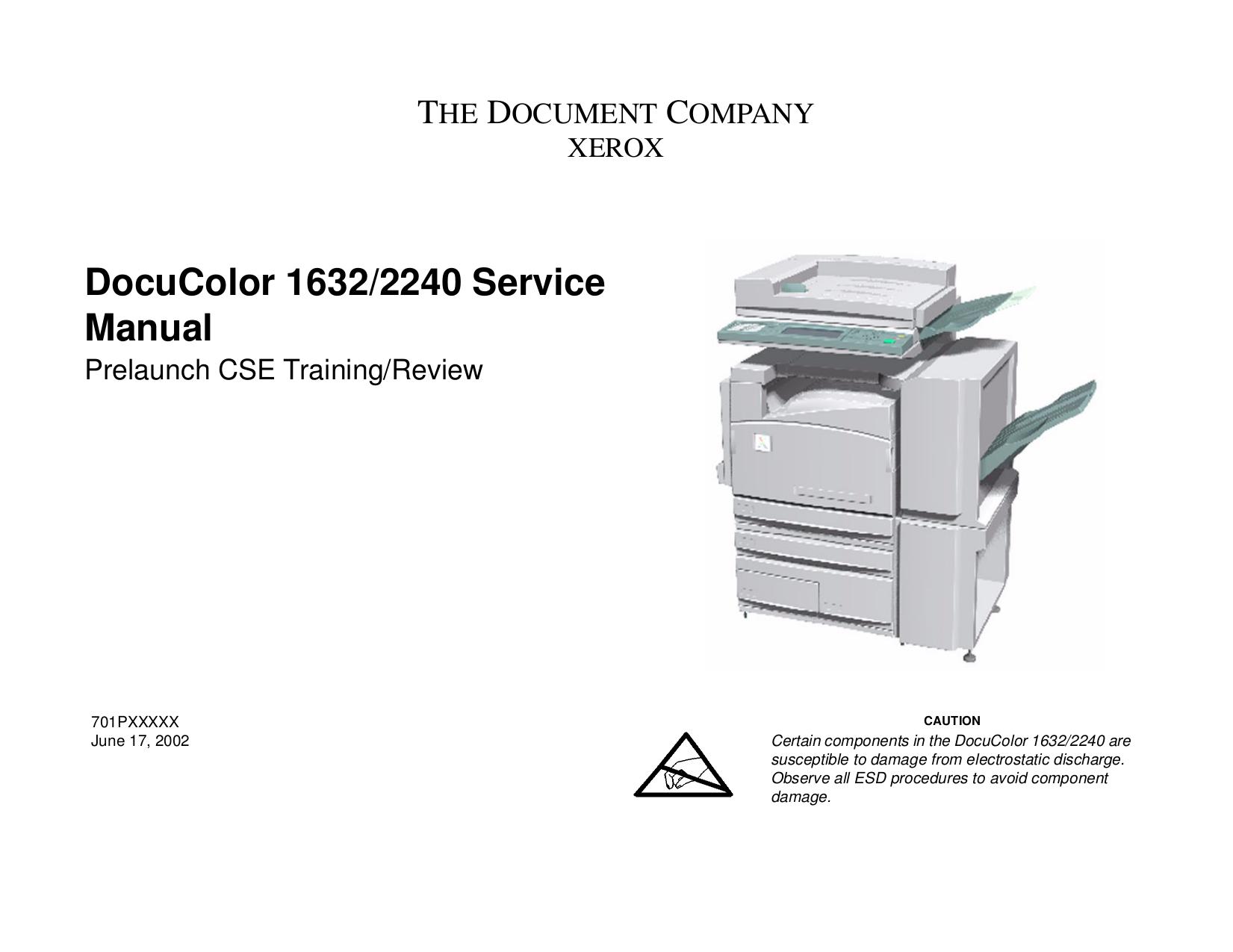 download free pdf for xerox docucolor 1632 copier manual rh umlib com xerox dc 1632 service manual Xerox DocuColor 7000